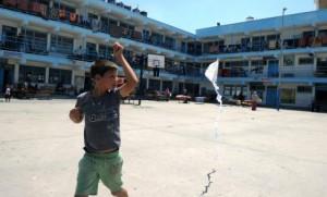 UNRWA schools house Hamas Rockets