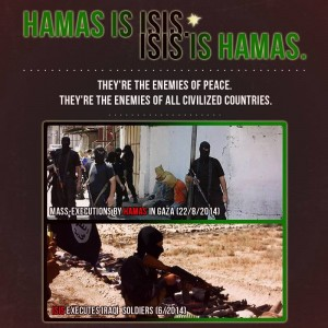 Hamas is ISIS